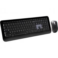Microsoft Desktop 800 2LF-00002 Black USB RF Wireless Slim Keyboard & Mouse - English