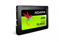 "ADATA SU650 480GB 3D-NAND 2.5"" SATA III High Speed Read up to 520MB/s Internal Solid State Drive (ASU650SS-480GT-C)"