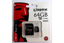 KINGSTON 64GB MICRO SD CARD CLASS 10