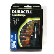 DURACELL 3 IN 1 CHARGER FOR GPS DEVICES