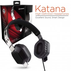 HYPERGEAR KATANA HIGH DEF. HEADPHONE WITH MICROPHONE