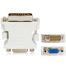 DVI (M) 24+5 TO VGA (F) DUAL LINK ADAPTER