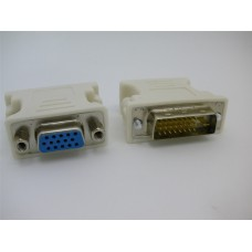 DVI (M) 24+1 TO VGA (F) SINGLE LINK ADAPTER