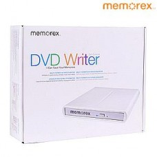 Memorex MRX-650LE CD DVD ± RW DL USB 2.0 Slim External Drive Burner Writer