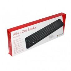 Microsoft (N9Z-00002) Wireless All-in-One Media Keyboard w/ Touchpad - Black (Retail Box)