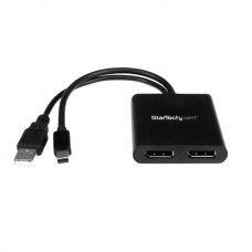 STARTECH MINI DISPLAYPORT TO DISPLAYPORT MULTI-MONITOR SPLITTER -2-Port MST Hub