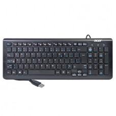 Acer USB Wired Multimedia Slim Keyboard - Black - SK-9626