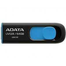ADATA 64GB UV128 USB 3.0 Flash Drive (AUV128-64G-RBE)