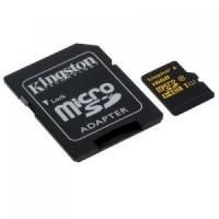 Kingston 32GB (Class 10) microSDHC Card, Min speed 10MB/s read, 10MB/s write