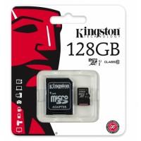 KINGSTON 128GB MICRO SD CARD CLASS 10