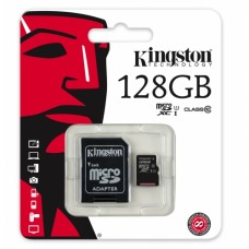 KINGSTON 128GB MICRO SD CARD CLASS 10