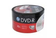 HP 16X DVD-R Silver Media/50 Pack