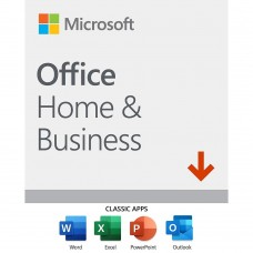 MICROSOFT OFFICE HOME & BUSINESS 2016 MEDIALESS 1PC