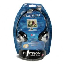 LG FLATRON HEADPHONE WITH MICROPHONE