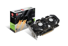 MSI GEFORCE GTX1050 TI GT OC 4GB GDDR5 (PCI-E)