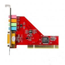 4 Channel PCI Sound Card