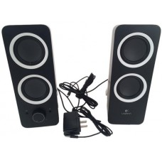 Logitech Recertified 980-000800 Multimedia Speakers Z200 with Stereo Sound for Multiple Devices - Black